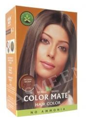 Натуральная краска для волос Color Mate (тон 9.2, натуральный коричневый)