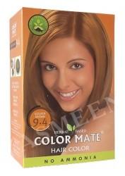 Натуральная краска для волос Color Mate (тон 9.4, золотисто-коричневый)