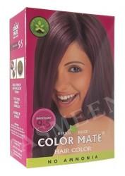Натуральная краска для волос Color Mate (тон 9.5, красное дерево)