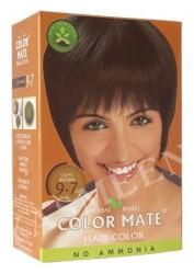 Натуральная краска для волос Color Mate (тон 9.7, светло-коричневый)